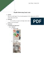 Humaira Nabila_Simple Scientific Method using Chacha Candy