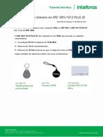 Cadastro de TAG e Chaveiros No XPE PLUS ID Sem o MIP 1000