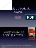 Metody do badania stresu