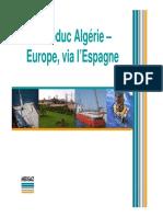 94962907 Gazoduc Algerie Europe