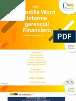 Fase 4 Informe gerencial financiero