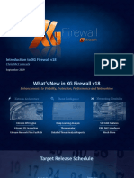 Xg Firewall v18 Overview Presentation