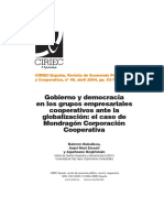 BalerenBakaikoaYOtros GobiernoYDemocraciaEnGruposCooperativos RevCIRIEC N48!53!77 2004