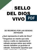 EL SELLO DEL DIOS VIVO XXX