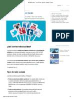 Redes Sociales - Qué son, tipos, ejemplos, ventajas y riesgos