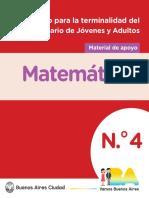 Cuadernillo No4 Matematica Web