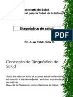 diagnostico de salud xx