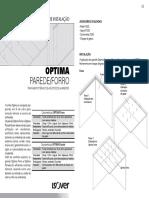 Manual de Instalacao Optima Parede e Forro (1)