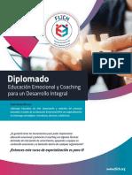 Brochure Diplomado Educación Emociona FLICH