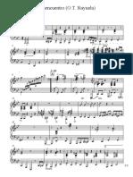 Desencuentro Piano