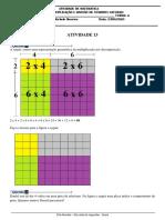 ativ 13 multiplicação e divisão
