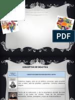 MATRIZ FUNFAMENTOS DE LA DIDACTICA #1