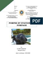 POMPES ET STATIONS DE POMPAGE