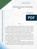 A IMPORTÂNCIA DO PROFISSIONAL DE PSICOLOGIA NO INSTITUTO MÉDICO