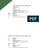 Contoh Rancangan Harian Tahun 5 SJK