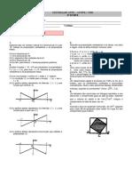 Matemática 1 - 2ª Fase - UFPE - 1990