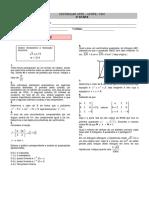 Matemática 3 - 2ª Fase - UFPE - 1991