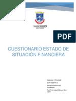 CUESTIONARIO SITUACION FINANCIERA