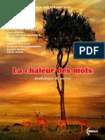 LA CHALEUR DES MOTS  ANTHOLOGIE VN PDF