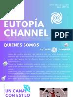 Eutopía channel brandbook