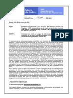 Circular No. 002-4 Del 28 de Enero de 2021 Orientaciones Para Cargue de Proyectos en SUIFP-SGR