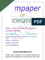 data structure termpaper