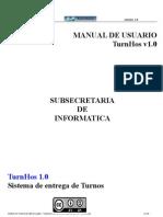 TurnHos-Manual de Usuario
