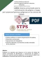 NOM-018-STPS-2015