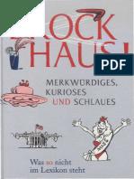 Brockhaus - Merkwürdiges, Kurioses Und Schlaues