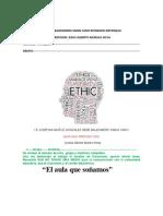 ETICA  GUIA 1 PERIODO 1 LAURA CRISTINA CISNEROS SAMPAYO 8-4