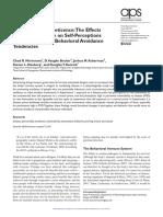Mortensen et al Infection Breeds Reticence