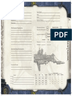 Rogue Trader Лист корабля v1.0
