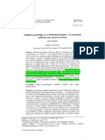 Valsiner J (2019) ESTUDIOSx Cultural Pszchology as Theoretical Project