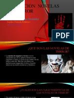 Exposición de novelas de terror
