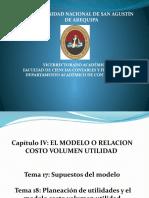 Costos y Pptos Planeacion Utilidades t 17 y 18