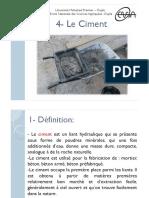 Ciment PDF