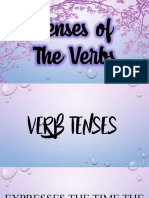 Tenses of the Verbs