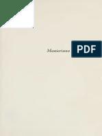OROZCO E - Manierismo y Barroco