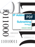 IP Addressing and Subnetting Workbook _ Instructors Version 1.5