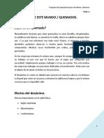 TEMA 8 LOS AFANES DE ESTE MUNDO _ QUEMADOS