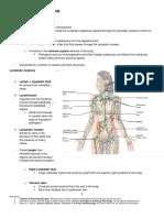 Lymphatic System.