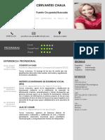 Curriculum Jennifer Cervantes