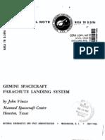 Gemini Spacecraft Parachute Landing System