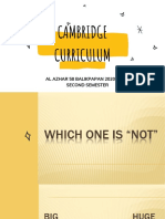 2_Cambridge Curriculum Presentation Semester 2_For Meeting with parents