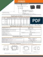relay Metaltex A1RC2 12VCC COMANDO