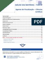 eBook - Agente de Fiscalização Ciências Jurídicas - TCM-SP