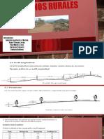 CAMINOS RURALES- Construcción de Rurales