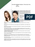 John Lloyd Cruz on relationship with Shaina Magdayao