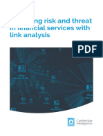 Managing Risk and Threat in Financial Services With Link Analysis 2