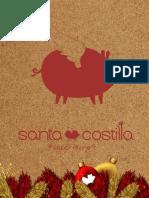 Menú Santa Costilla
